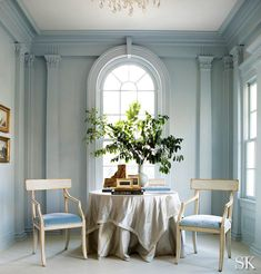 Suzanne-Kasler-Buckhead-best pale blue paint color