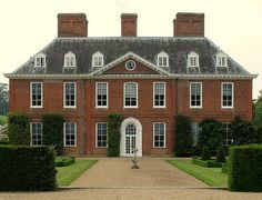 Squerryes Court in Kent: Hartfield in the 2009 Emma. LOVE. Nice location for a wedding.