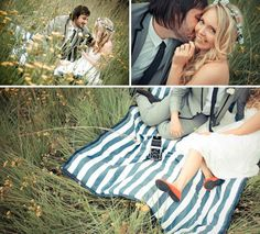 I love this!  And I love their save the date!