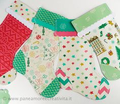 Il kit da stampare per fare la calza della befana