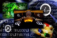 Opening Titles for BBC show QI use P22 Cezanne and P22 Koch Signs