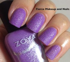 Fierce Makeup and Nails: Zoya Summer 2013 PixieDust Collection
