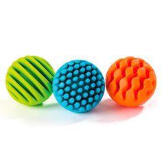 Paquet de 7 Sensoriel Rainbow Paillettes Balles