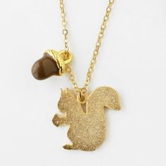 glittery gold squirrel for alpha gamma delta  ;)