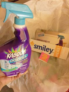 Smiley360 Sample: Kaboom Plus Desinfex