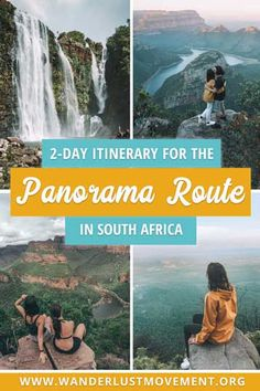 The Panorama Route in South Africa is the most scenic road trip in the country and one of Africa's greatest natural wonders. Here's my itinerary for the Panorama Route & everything else you need to know to have an epic road trip through the beautifu Africa Destinations, Travel Destinations, Travel Guides, Travel Tips, Namibia, Tahiti, Uganda, Africa Travel, Natural Wonders