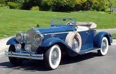 Packard 734 Boattail speedster - 1930 - photo Facebook