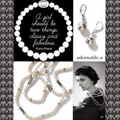 Coco Chanel adornable.u