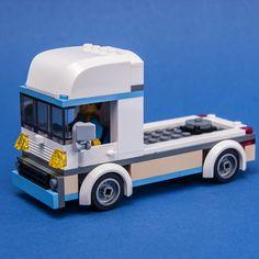 LEGO MOC 60283 Euro Truck by Keep On Bricking | Rebrickable - Build with LEGO Brick Saw, Lego Car, Lego City Sets, Lego Group, City Car, Euro, Trucks, Truck