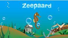 kleuters leren de zeedieren kennen Illustrations And Posters, Aquarium, School, Camping, Beach, Projects, Octopus, Diep, Land