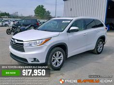 BEST time to buy! Get your Toyota Highlander LE, LE Plus, and XLE before it's gone! Shop great deals: http://1o.to/Toyota-Highlander