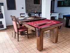 A Poseidon é conceito de mesa de sinuca e jantar desenvolvida pela Blackball pensando na versatilidade, tanto para ambientes internos como externos.