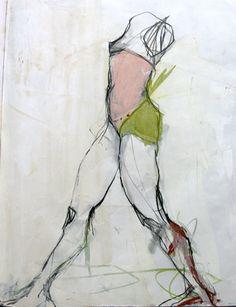 sketchbook - figure - by jylian gustlin