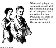 The leading argument of most Ron Paul supporters.