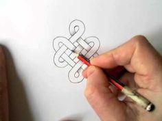 Celtic Design 6 (shading) - YouTube - David Nicholls