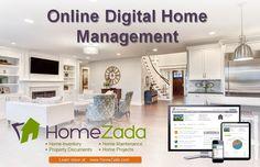 HomeZada Online Digital Management Ad #HomeManagement #HomeInventory