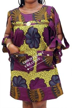 Short African Dresses, African Blouses, African Shirts, African Inspired Fashion, Latest African Fashion Dresses, African Print Fashion, African Attire, African Wear, African Lace