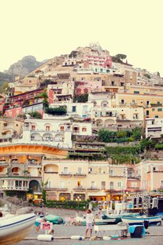 Positano, on the Amalfi Coast, Italy. Love to go.