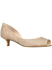 Belizeit2 Peep Toe D'orsay Court Shoes, Nude