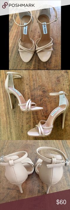Steve Madden Fillmore Heels size 5 Beautiful worn once Steve Madden Fillmores. Size 5 Steve Madden Shoes Heels
