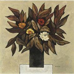 Flores secas by Oswaldo Guayasamin