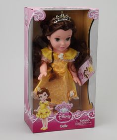 Take a look at this My First Disney Princess Belle Doll by Disney on #zulily today!