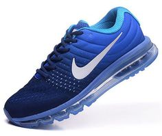 new product ff8f0 3eb97 Mens Nike Air Max 2017 Blue Dark Blue Usa Cheap Nike, Nike Shoes Cheap,