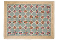 American Star Quilt Antique Great printed by FeatheredStarVintage