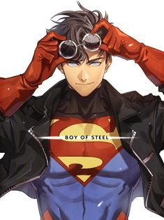 Young Superman <<<<<<<<< That's SuperBOY not Superman. Do your research