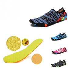 Unisex Sneakers Swimming Shoes Water Sports Aqua Seaside Beach Surfing Slippers Upstream Light Athletic Footwear For Men Women Fall Shoes, Summer Shoes, Trendy Shoes, Cute Shoes, Shoe Vamp, Seaside Beach, Water Sport Shoes, Water Sports, Bikini Workout