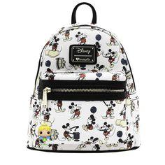 fcab01613f3 Disney Mickey Mouse Classic Loungefly Mini Backpack BONUS Funko Keychain  NEW  Loungefly  Backpack Mini