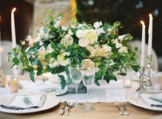Lots of greenery, low stone bowl, neutral flowers but incorporating subtle shades of peach and cream vs. all crisp whites Old World Wedding, Our Wedding, Garden Wedding, Summer Wedding, San Ysidro Ranch, Lake Como Wedding, Shades Of Peach, Event Planning Design, Destination Wedding Planner