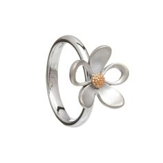 Sterling Silver & Rose gold open and closed Petal ring with Rare Irish gold centre Irish Jewelry, Ring Size Guide, Jewelry Collection, Unique Gifts, Rose Gold, Pure Products, Sterling Silver, Rings, House