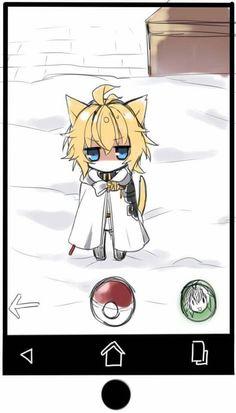 Immagine di anime, owari no seraph, and kawaii Manga Anime, Anime Art, 50th Anniversary Logo, Desenhos Love, Pokemon Photo, Animal Crossing Wild World, Mikaela Hyakuya, Pony Drawing, Seraph Of The End