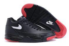 meet 9977e 076bf Nike Air Flight 89 Squad Black Red