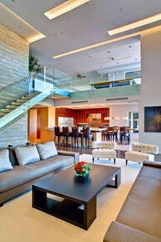 Best Ideas For Modern House Design & Architecture : – Picture : – Description Modern Home Design by the Urbanist Lab Modern House Design, Modern Interior Design, Loft Design, Apartment Interior, Room Interior, Interior Architecture, Luxury Homes, New Homes, Home Decor