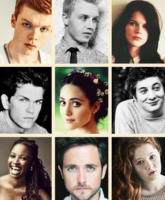 Shameless cast + favourite photoshoots