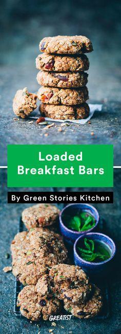 Travel Snacks: Breakfast Bars (with white beans! Vegetarian Snacks, Diet Snacks, Easy Snacks, Healthy Snacks, Eat Healthy, Snacks Homemade, Healthy Bars, Vacation Snacks, Travel Snacks