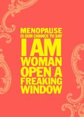 Menopause Card