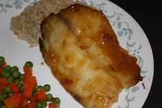 Southern Living Yankee: Mustard-Apricot Glazed Tilapia
