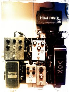 Current guitar/bass pedal rig.