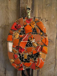 Eccentricities, Mosaics by Kelly Aaron: BLESSED