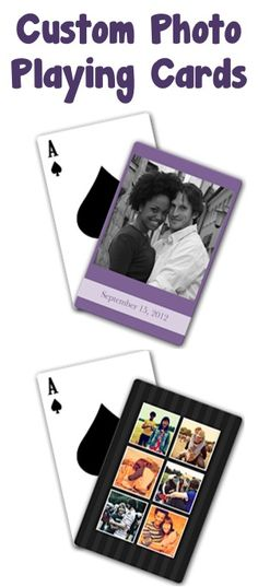 $5 Custom Photo Playing Cards + s/h!  These make such fun gifts, too!