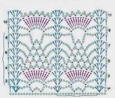 165 Beste Afbeeldingen Van Diagrammen Yarns Crochet Clothes En