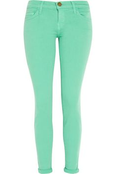 Current/Elliott The Ankle low-rise skinny jeans $80