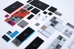 จะมีจริงๆใช่มั้ย  motorola's project ara modular smartphone hardware system - designboom | architecture