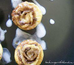 Baking with Blondie : Easy Mini Cinnamon Rolls