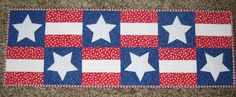 Sonia Quilts: 4th of July Table Runner Tutorial