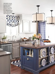 Better Homes and Gardens Kitchen + Bath Makeovers issue Spring 2014 designed by Jenna Burger, Styled + Produced by Donna Talley