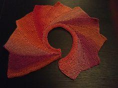 wingspan shawl loom knit